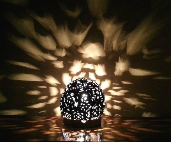 Fantasy Light-Burst Lampshade