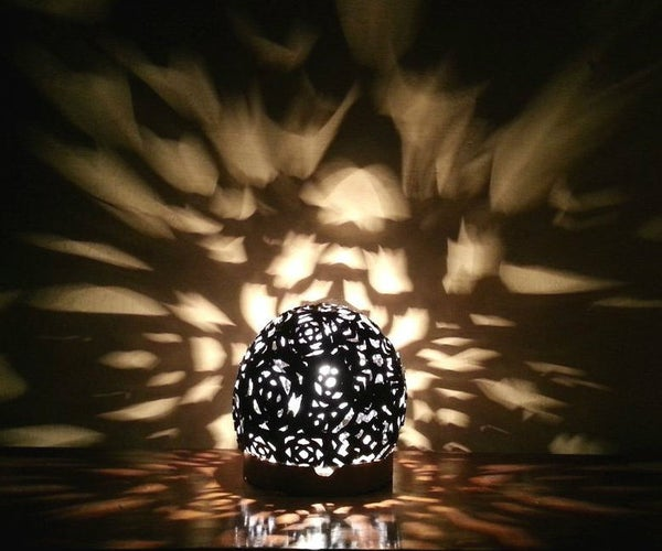 Fantasy Light-Burst Lampshade