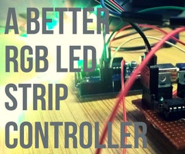 Make a RGB LED Strip Controller.