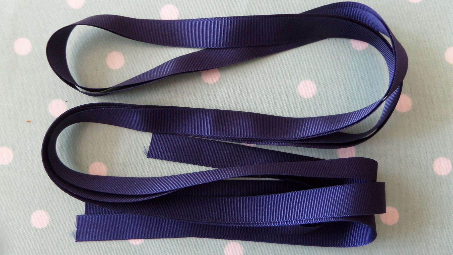 Hand Finishing  the Waistband and Attaching the Ribbon Ties