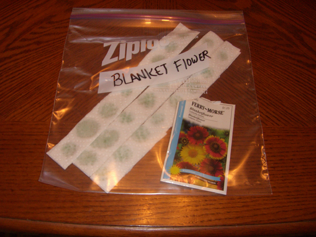 Make Your Own Seed Tapes