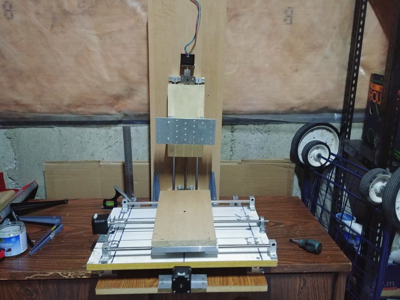 Making the Z-axis