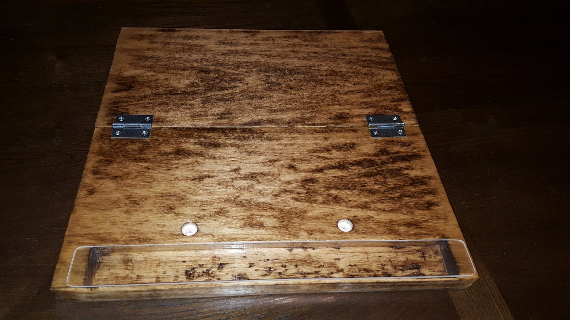 Hinges, Storage Cover, and Feet!