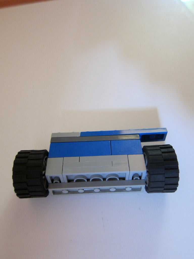 Front Axle and Attachment