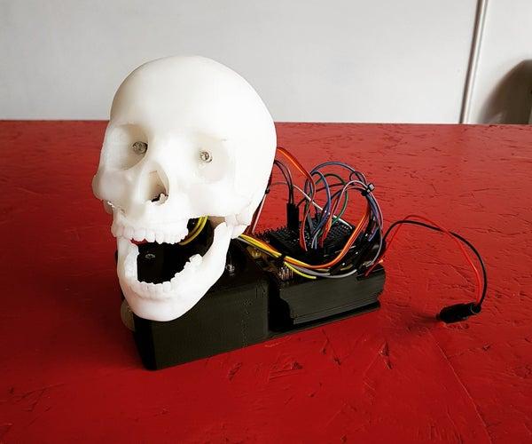 Motion Detection Halloween Talking Skull