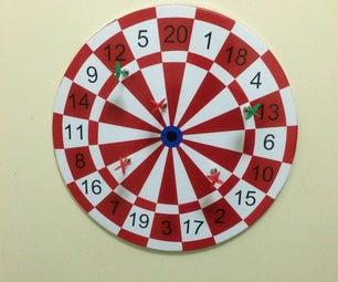 DIY Magnetic Dart Board