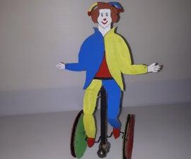 Moving Automata Walking Buffoon