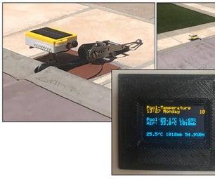 MQTT游泳池温度监测器