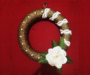 Decorate Your Wall With an Elegant Wreath