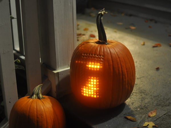 Pumpktris - the Tetris Pumpkin