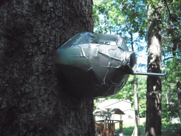 Recycled Milk Jug Bird House