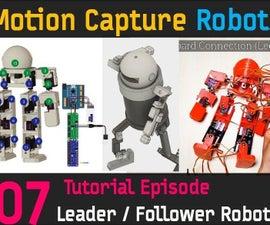 CHOOM [FINAL] Follower Robot Circuit Connection, Building Leader Robot