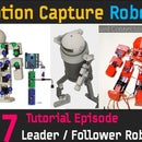 CHOOM [FINAL] Follower Robot Circuit Connection, Building Leader Robot