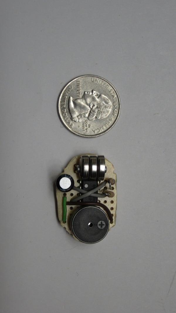 Miniature Beeping Circuit Prank