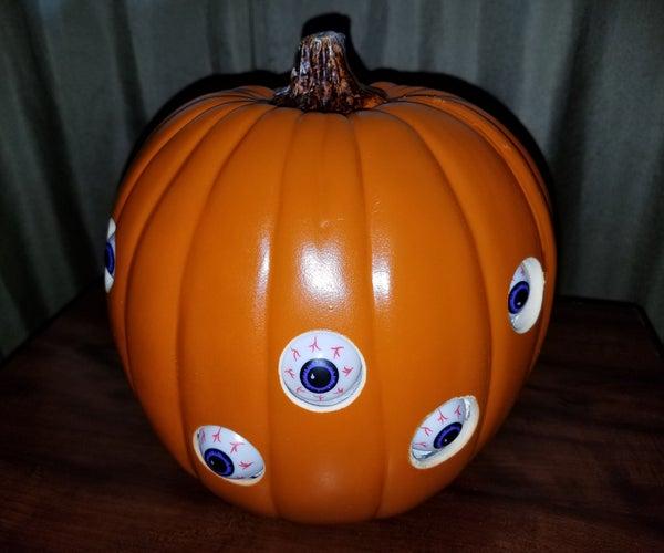 Animated Spooky Pumpkin Eyes
