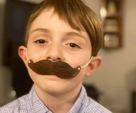 Leather Mustache