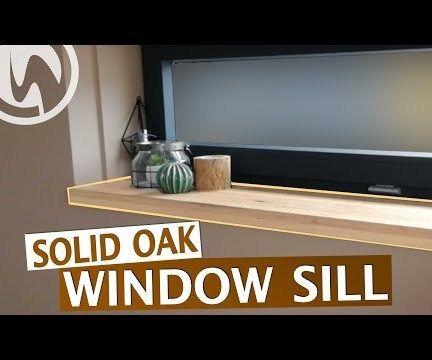 Solid Oak Window Sill