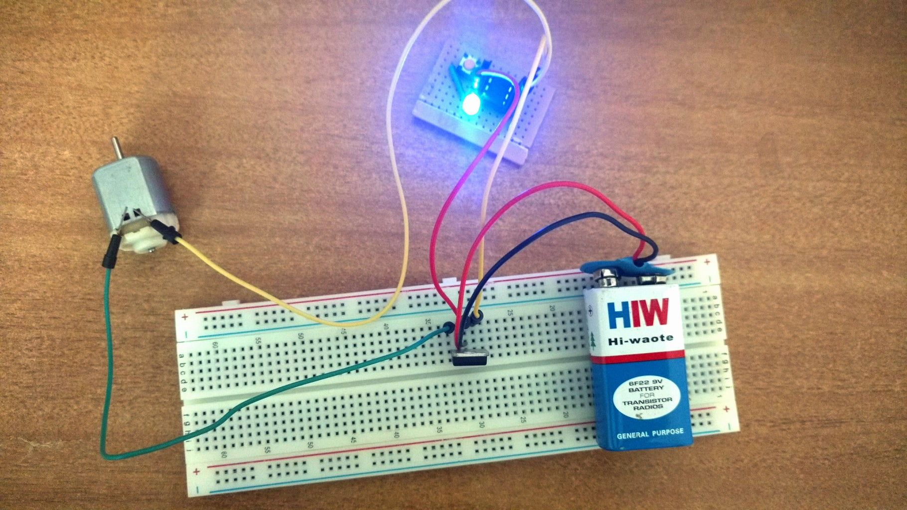 Controlling a DC Motor