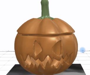 How to Create Halloween Pumpkin in SelfCAD
