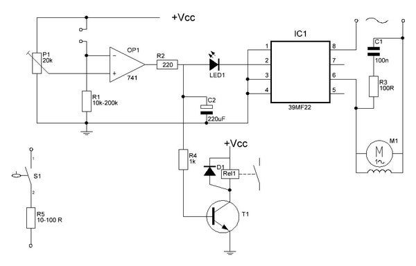 Irrigating Your Garden With an Opamp: the Circuit, List of Materials