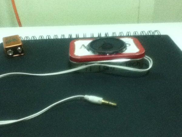 Altoids IPod Speaker