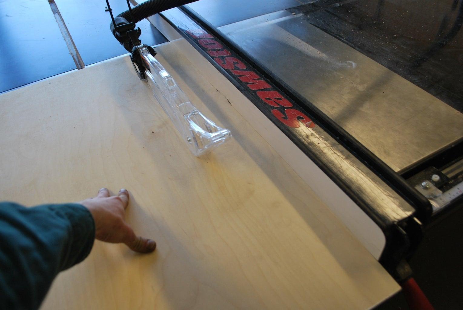 Cutting Slats