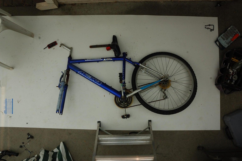 Striping the Bike