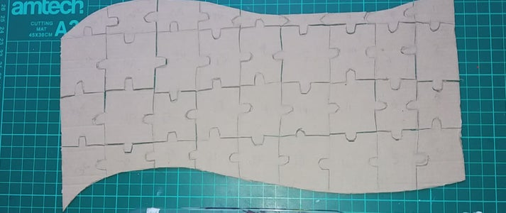Cut Out the Individual Pieces
