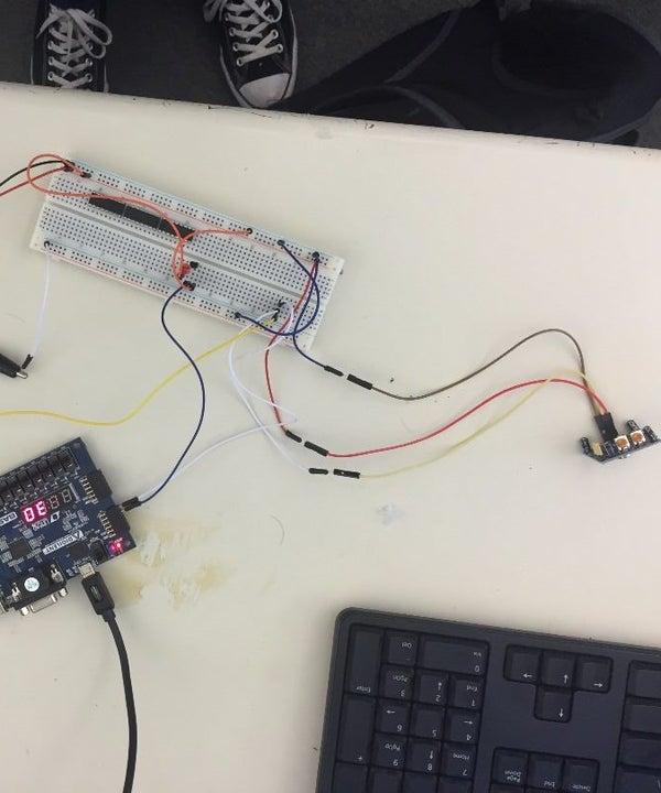 FPGA LED FSM