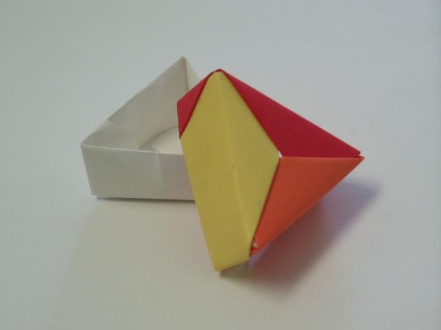 Origami Triangle Gift Box