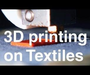 3D-Printing Plastics on Textiles