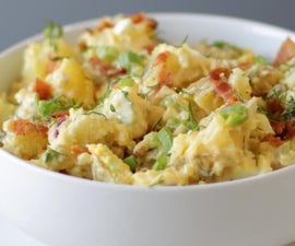 神奇的土豆沙拉