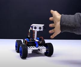Human Following Robot Using Arduino Uno Below 20$