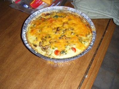 Bake the Quiche and Eat :D