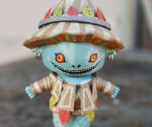 Scarecrow to Skull Kid: Dollar Store Repaint