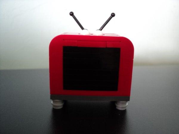 Retro TV LEGO