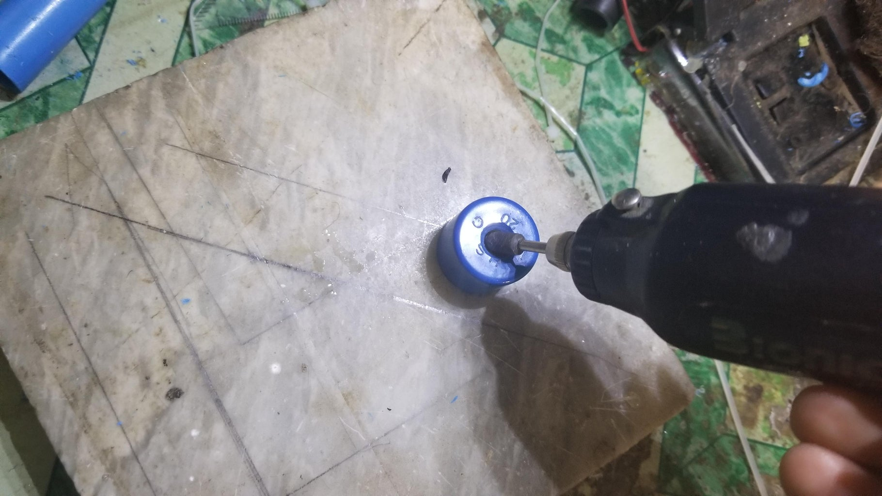 Making the Nozzle for Air