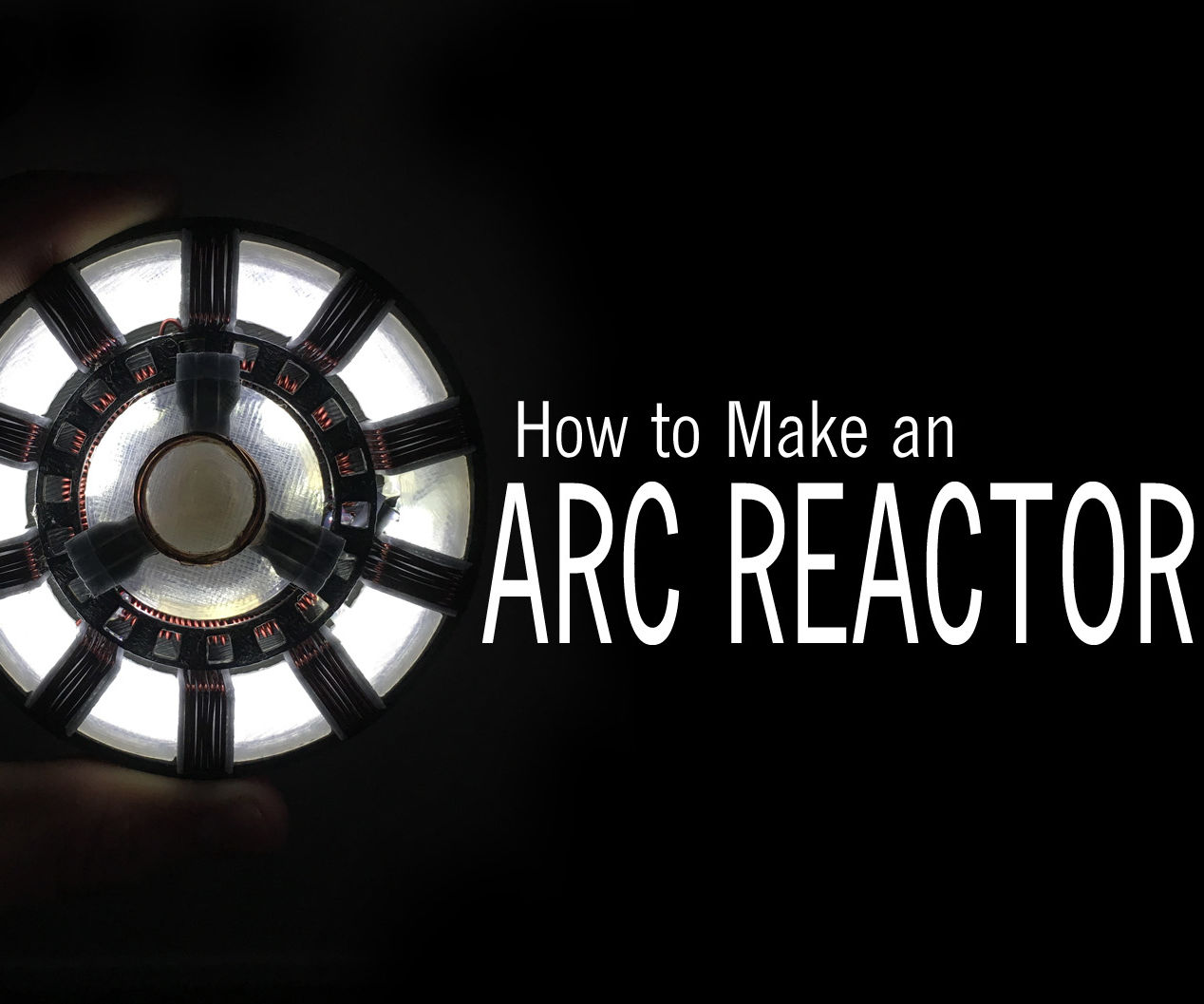 Wearable Iron Man Arc Reactor