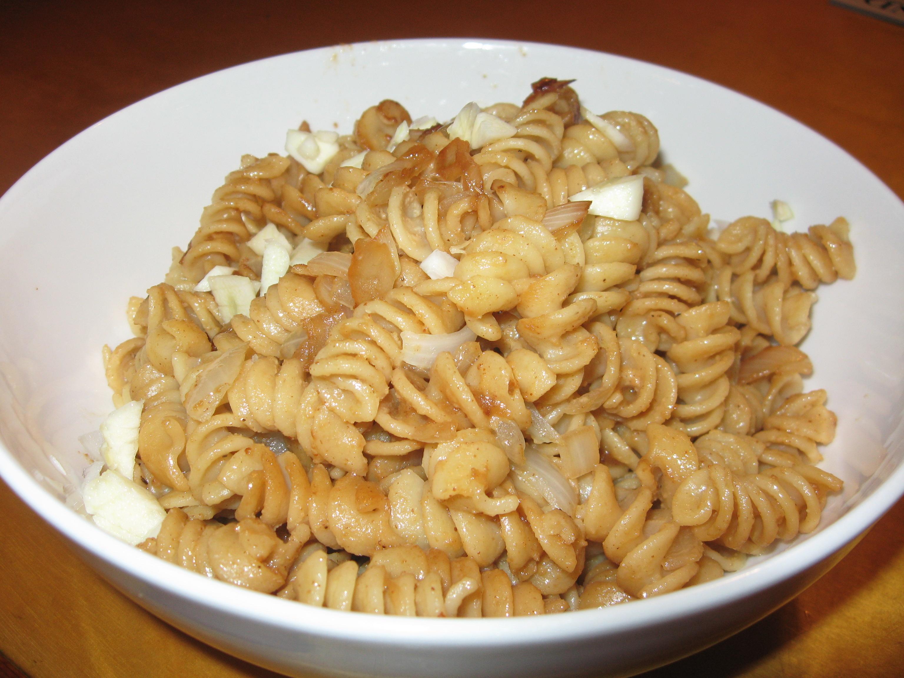 Thai Inspired Peanut Pasta