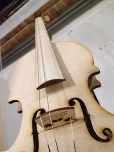 Finalising the Violin