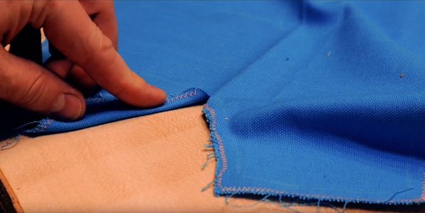 Sewing the Apron Shapes