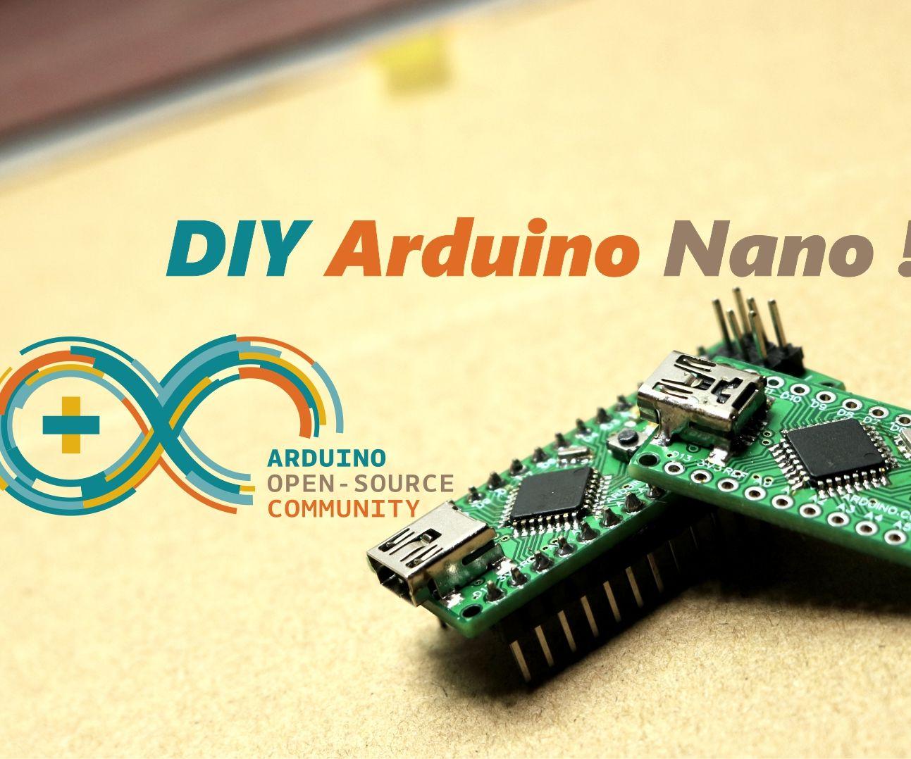 DIY Arduino Nano !