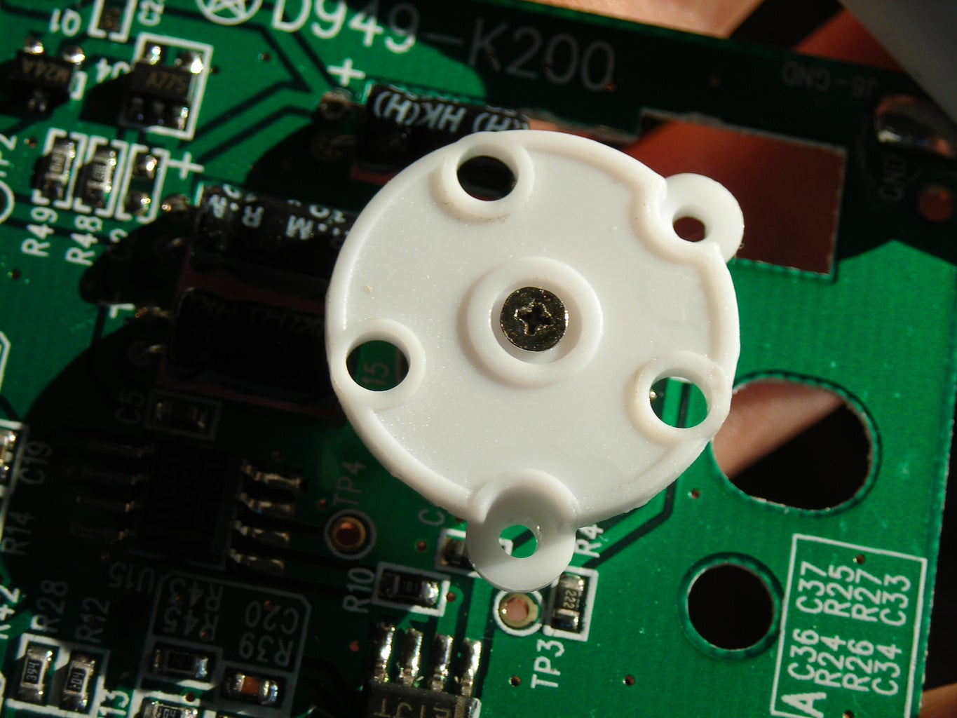 Removing the Pot and Wiring an External Controller