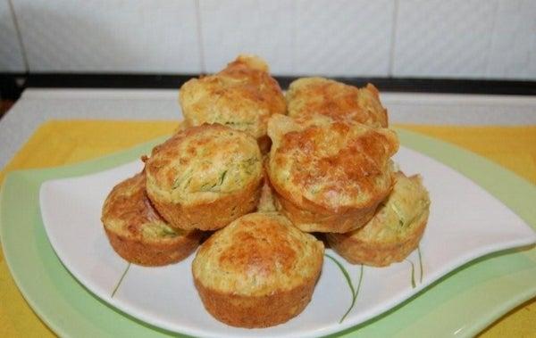 Zucchini Muffin (salted Muffin)