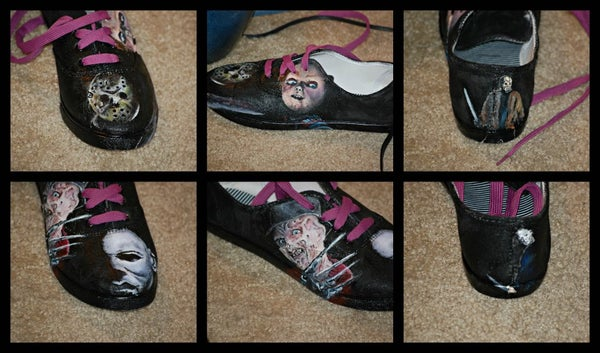 Horror Movie Masters Shoes
