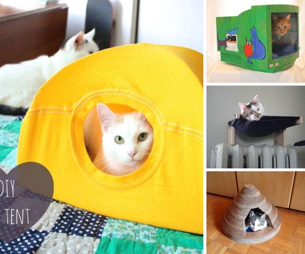 9 Cozy Cat Nap Nooks