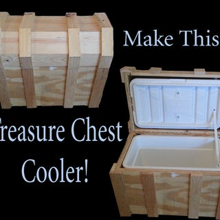 Pirate Chest Beer Cooler