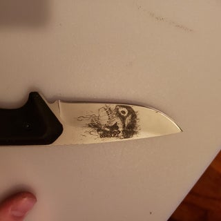 Detailed Acid Etching With a Stencil