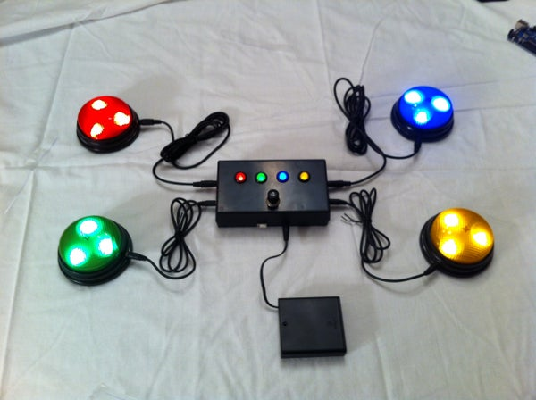 "Quiz Game Controller Using ""Lights and Sounds Buzzers"" and Arduino"