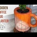 DIY Coffee Mug Shaped Planter